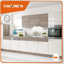 Popular for the market wood grain kitchen cabinet