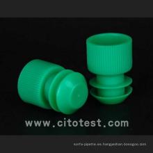 Tapones y tapas de tubos de prueba de plástico (4070-1016-08)