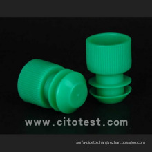 Plastic Test Tube Stoppers & Caps (4070-1016-08)