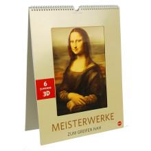New Custom Design 3D Lenticular Wall Calendar