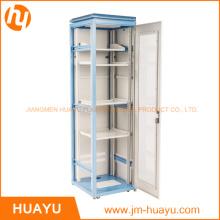 "Support de plancher 19 ""42u 800X1000 Serveur Rack Cabinet Porte en verre"