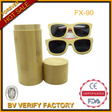 Top Selling 100% Handmade High Quality Bamboo Sunglass with Wooden Sunglass Case