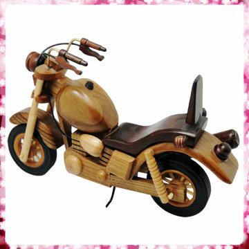 Modelo de moto de madera clásica para la venta