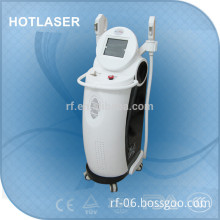 Good performance two handles beauty machine/rf+ipl mashine