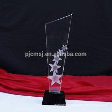 Wholesale customized good quality custom crystal award trophy