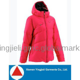 ski clothing women ski jacket for red color