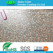 Muti color marble stone texture Powder Coatings