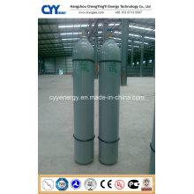 Haute qualité 50L à haute pression Argon oxygène Nitrogen Carbon Dioxide Seamless Steel Cylinder