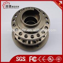 Cnc usinagem polido com partes de alumínio liso idades / peças de usinagem cnc fez ouit de 6063aluminum / cnc girado peças polidas
