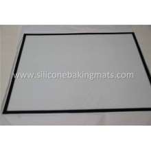 Best Quality for Non Stick Silicone Baking Mat Silicone Full Size Rolling and Baking Mat supply to Cayman Islands Supplier