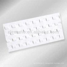 Carte de nettoyage de compteur de devise plate, carte de nettoyage pour la banque