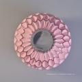 Оптовая Небольшой Круглой Розовой Банке Мозаика Стекло Подсвечник