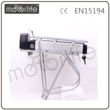 MOTORLIFE 36v 8ah 10ah rear rack battery ROHS