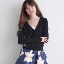 preço barato adulto lã damas sofisticados padrões de tricô suéter