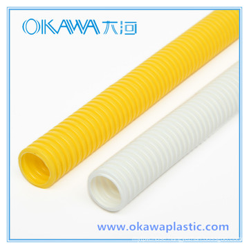 Anti-UV PVC Corrugated Conduit Pipe with Various Sizes