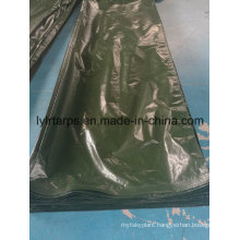 Dark Green PE Tarpaulin Cover