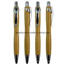 Pena de bola de madeira / de bambu da promoção do presente (LT-C715)