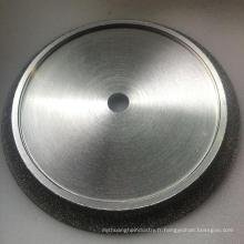 plaquettes lisses plaquées diamant polissage roue pour marbre