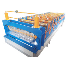 Bangladesh 840-900 Colored Steel Sheet Double Deck Roll Forming Machine