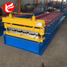 Metal roofing ibr roof panel sheet roll forming machine