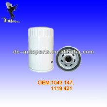 Empilhadeiras / Tratores / Carregadeiras / Caminhão Oil Filter 1119 421,3652 059 Para LINDE / ALLIS CHALMERS / HYSTER / NISSAN, CASE / FORD, VOLVO, RENAULT