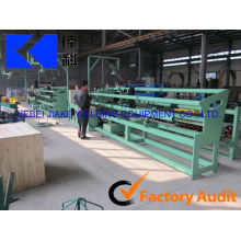 golf course fence chain link fence machine production line