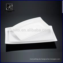 Keramikplatte Geschirr Rechteck Platte beliebte Platte