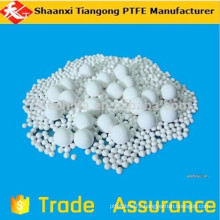 hollow colored ptfe balls
