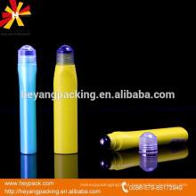 20g PE frascos de bola rolante vazia para creme para os olhos