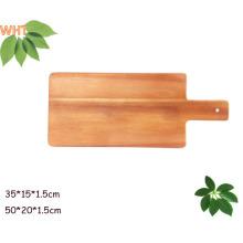 """13 """"Placa de madeira da madeira de Acacia Placa de estaca da madeira da cozinha"""