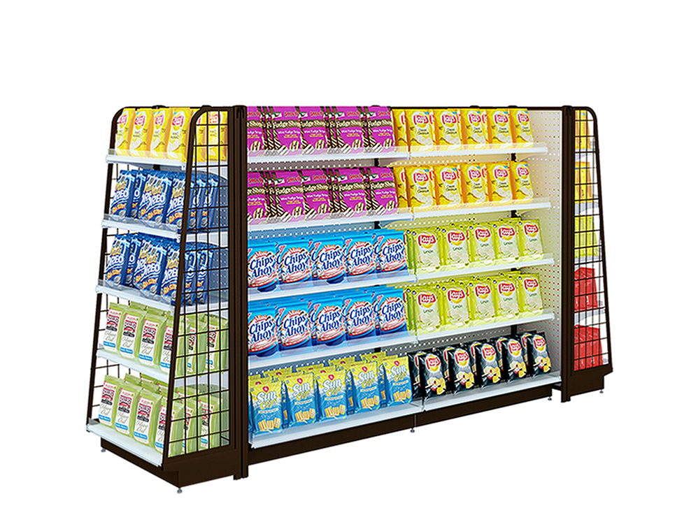 Convenience Store Shelving Units