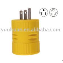 RV plug and receptacle plug&socket 20A 30 amp