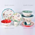 Новый модный набор роскошной керамической посуды