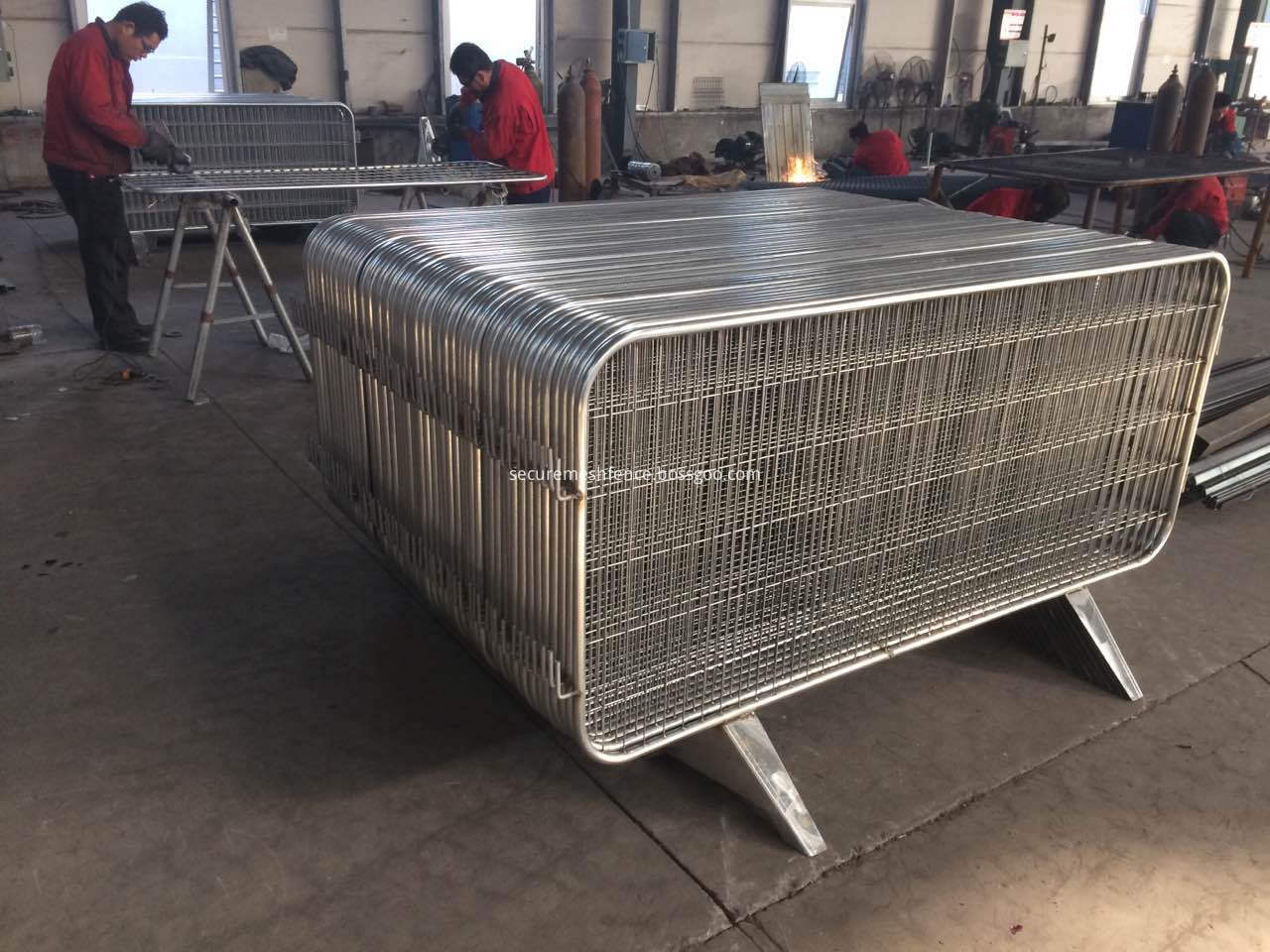 welded wire mesh temporary fencing panels