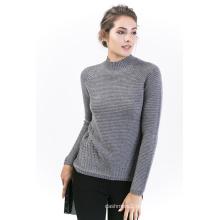 Damen Rundhals Cashmere Pullover