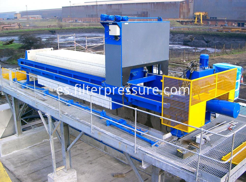 Automatic Washing Filter Press