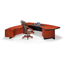 Office Desk with Leather Padded Table Top (OWDK1002-28-1)