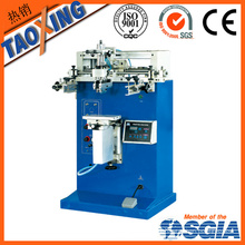 semi-automatic one colour platic bottle screen printing machine price