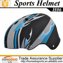 H06 capacete de skate plástico para segurança infantil