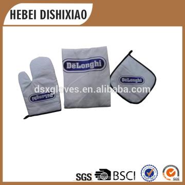 Guantes de horno de algodón de manga corta
