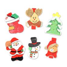 FQ marque haute qualité décoratif carte personnalisée en bois papier clip de Noël