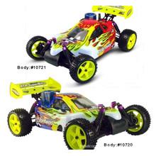 New RC Nitro Car Hsp 1/10th Scale 4WD off Road Advanced RTR Buggy 94106