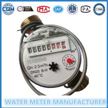 Dn20mm 10L / импульсный измеритель уровня воды, счетчик холодной воды