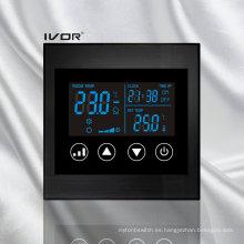 Interruptor táctil del termóstato del acondicionador de aire en el marco de acrílico (SK-AC100L8)