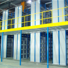 Mezzanine à 2 niveaux pour stockage de petites pièces