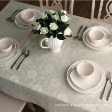 Projeto de jacquard de pano de mesa