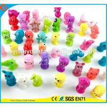 Hot Selling Plastic Mini Figure Stikeez Toy for Vending Machine Capsule Toy