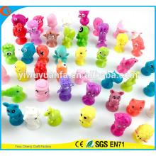 Горячий продавать Пластиковые мини фигурка фигурки stikeez игрушки для Торговый автомат капсулы игрушки