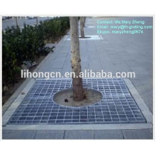 Steel tree grating,steel tree cover,steel tree protection