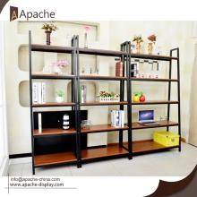 Trending Products for Wooden Displays Wooden & Metal Book Shelf Storage Rack export to Saint Kitts and Nevis Exporter